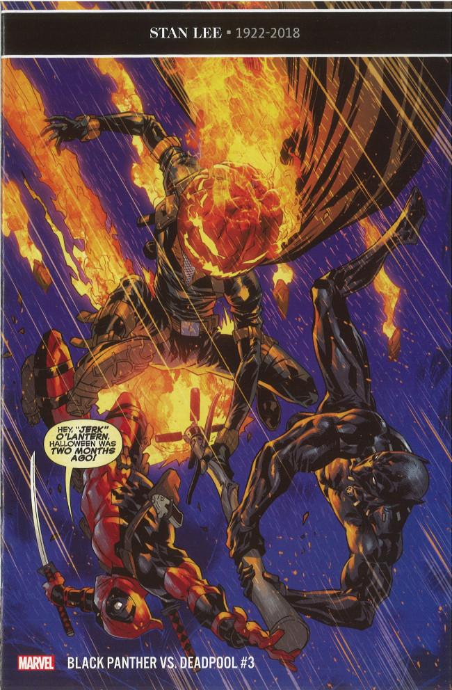 Couverture de Black Panther VS. Deadpool -3- Part Three: A Mutual Threat