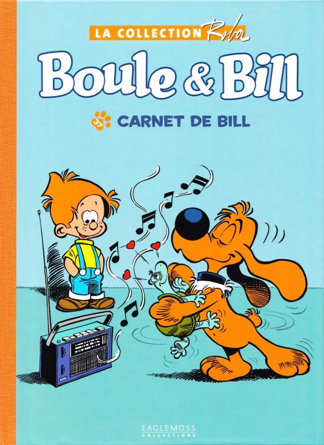 Couverture de Boule et Bill -15- (Collection Eaglemoss) -3723- Carnet de Bill