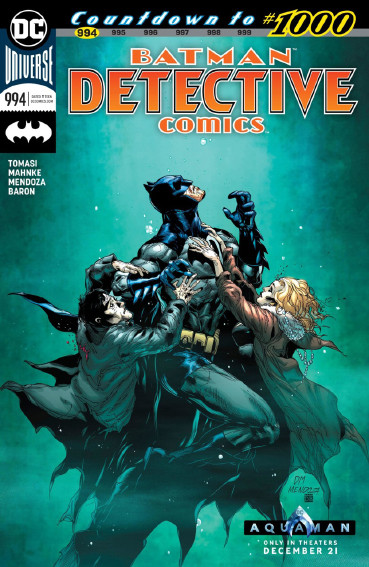 Couverture de Detective Comics (1937), période Rebirth (2016) -994- Mythology - Raze