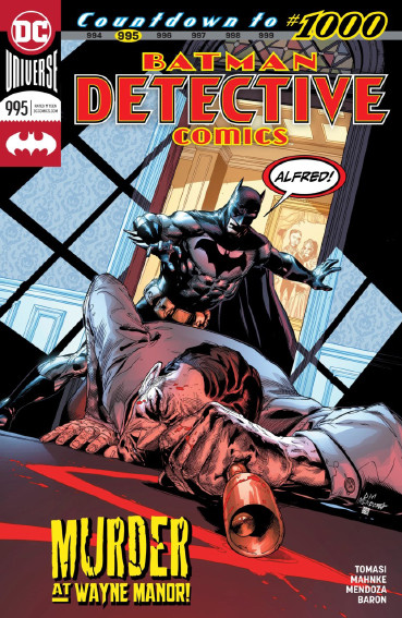 Couverture de Detective Comics (1937), Période Rebirth (2016) -995- Mythology - Ring them Bells