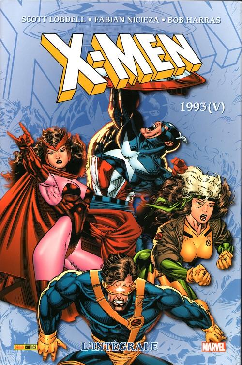 Couverture de X-Men (L'intégrale) -36- X-men : l'intégrale 1993 (V)