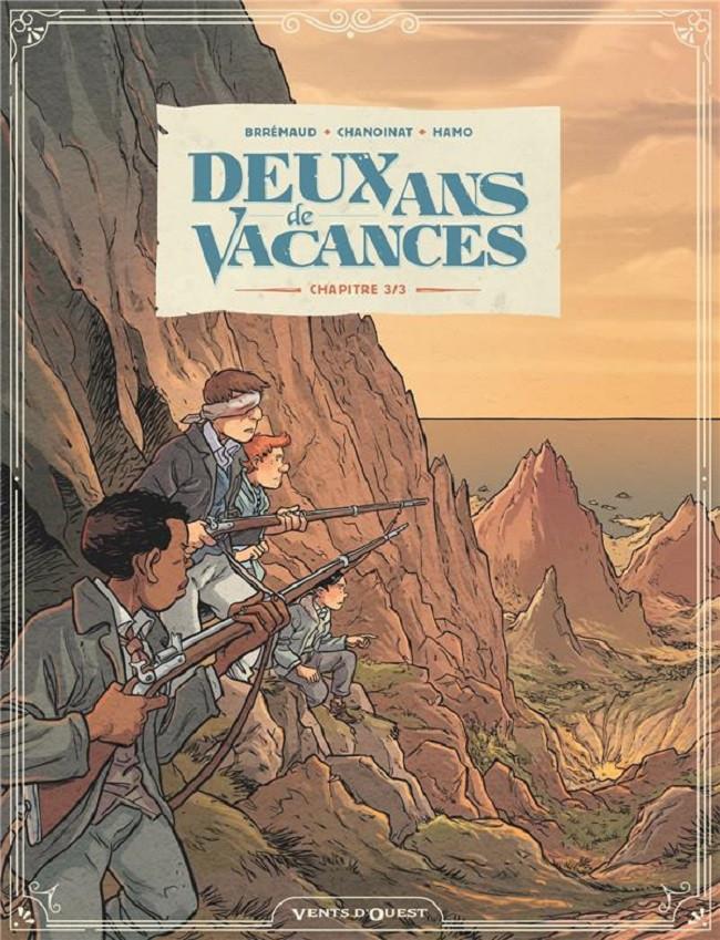 Couverture de Deux ans de vacances (Brrémaud/Chanoinat/Hamo) -3- Chapitre 3/3