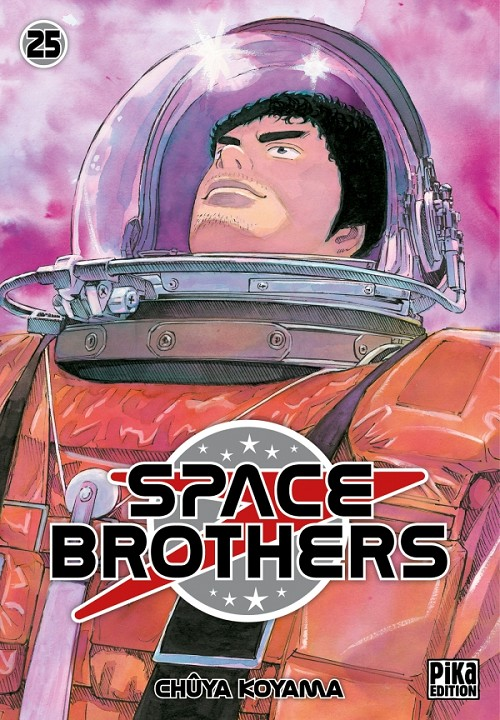 Couverture de Space Brothers -25- Tome 25