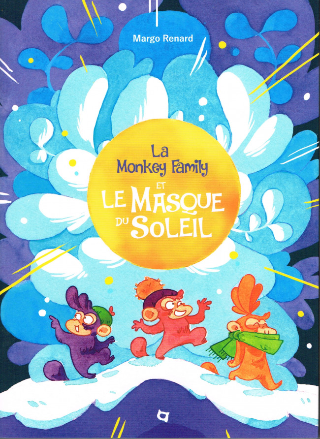 Couverture de Monkey Family (The) -2- La Monkey family et le masque du soleil