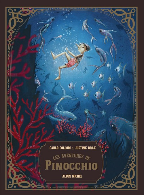 Couverture de (AUT) Brax, Justine - Les aventures de Pinocchio