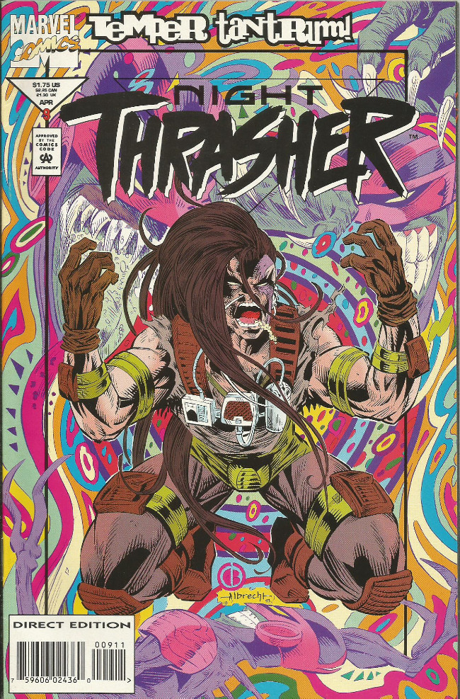 Couverture de Night Trasher (1993) -9- Temper Tantrum