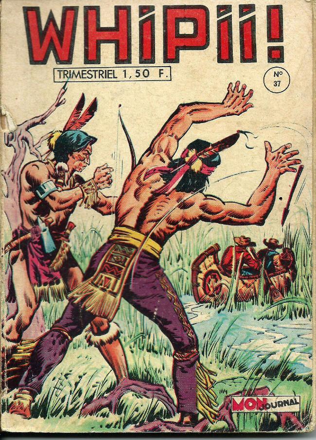 Couverture de Whipii ! (Panter Black, Whipee ! puis) -37- Jim Coronado