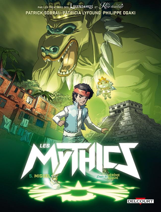 Couverture de Les mythics -5- Miguel