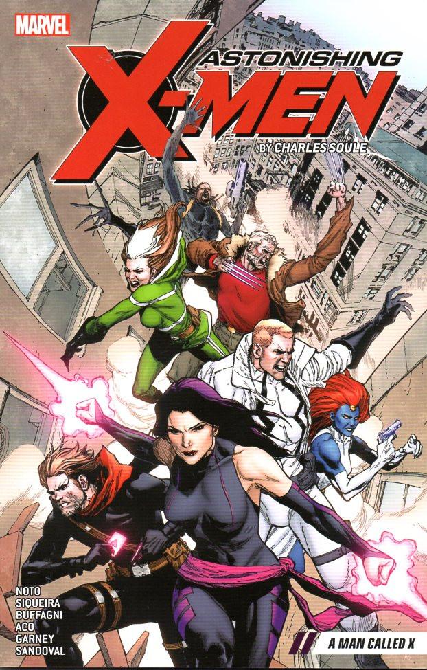 Couverture de Astonishing X-Men (2017) -INT02- A man called X