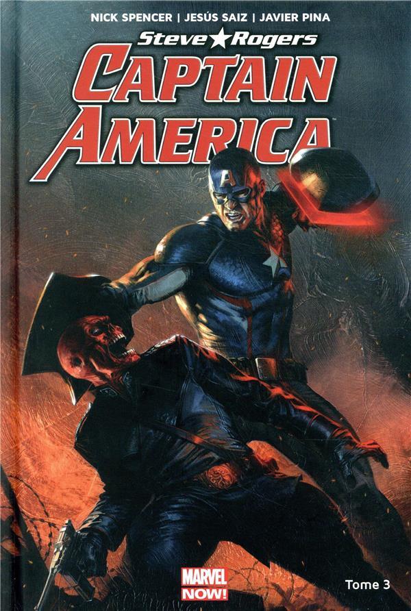 Couverture de Captain America : Steve Rogers -3- Naissance d'un Empire