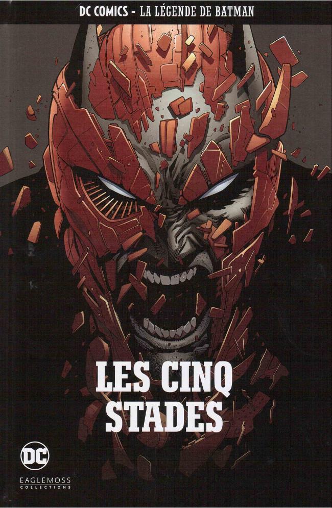 Couverture de DC Comics - La légende de Batman -3773- LES CINQ STADES