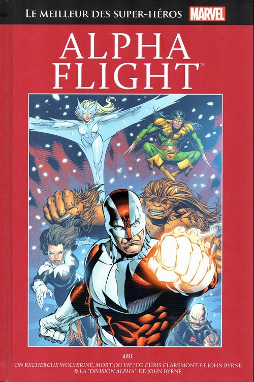 Couverture de Marvel Comics : Le meilleur des Super-Héros - La collection (Hachette) -78- Alpha flight