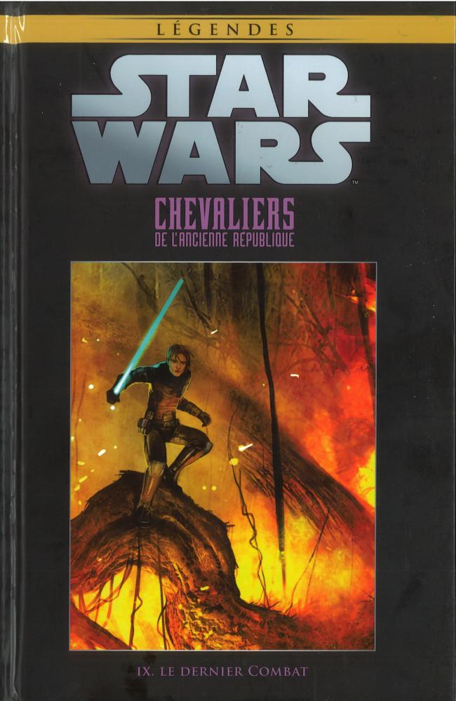 Couverture de Star Wars - Légendes - La Collection (Hachette) -8318- Chevaliers de L'Ancienne République - IX. Le Dernier Combat