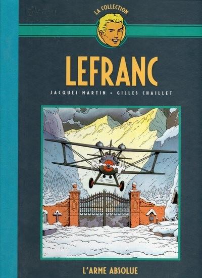 Couverture de Lefranc - La Collection (Hachette) -8- L'arme absolue