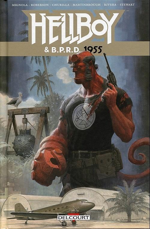 Couverture de Hellboy & B.P.R.D. -4- 1955