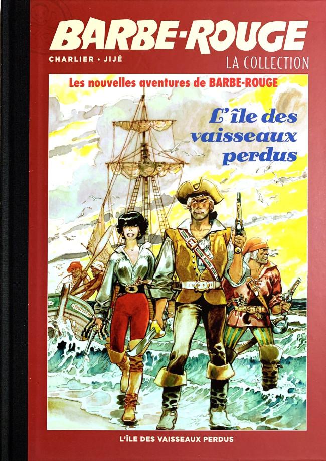 Couverture de Barbe-Rouge (Eaglemoss) -21- L'île des vaisseaux perdus