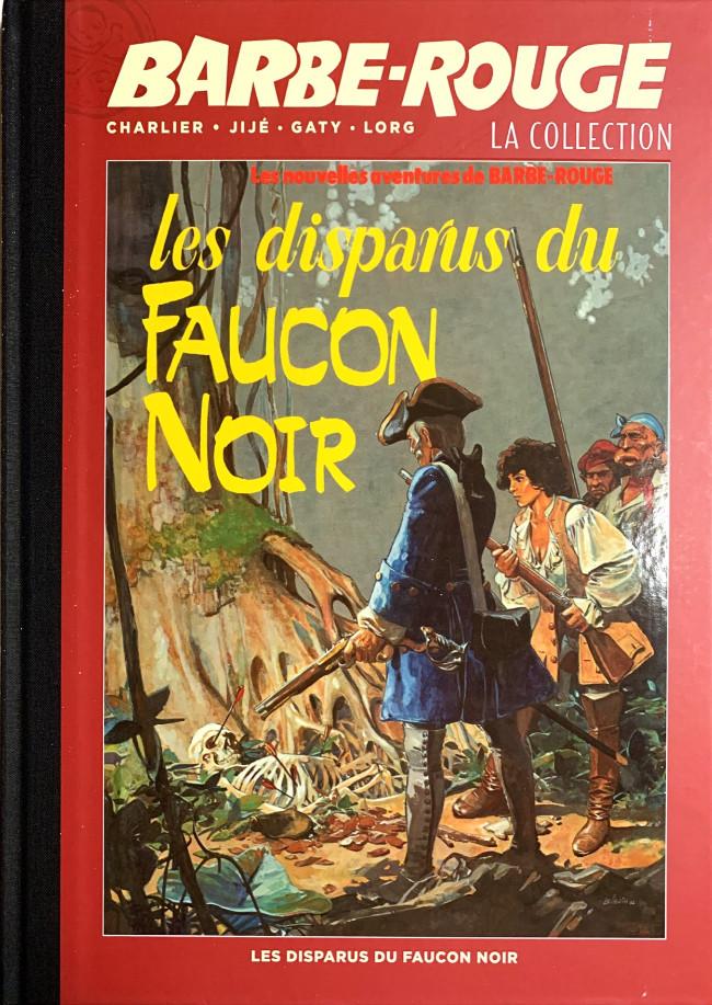 Couverture de Barbe-Rouge (Eaglemoss) -22- Les disparus du faucon noir