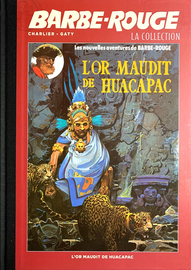 Couverture de Barbe-Rouge (Eaglemoss) -23- L'or maudit de Huacapac