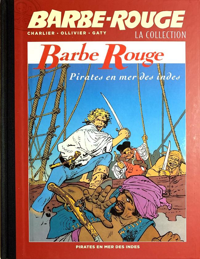 Couverture de Barbe-Rouge (Eaglemoss) -25- Pirates en mer des Indes