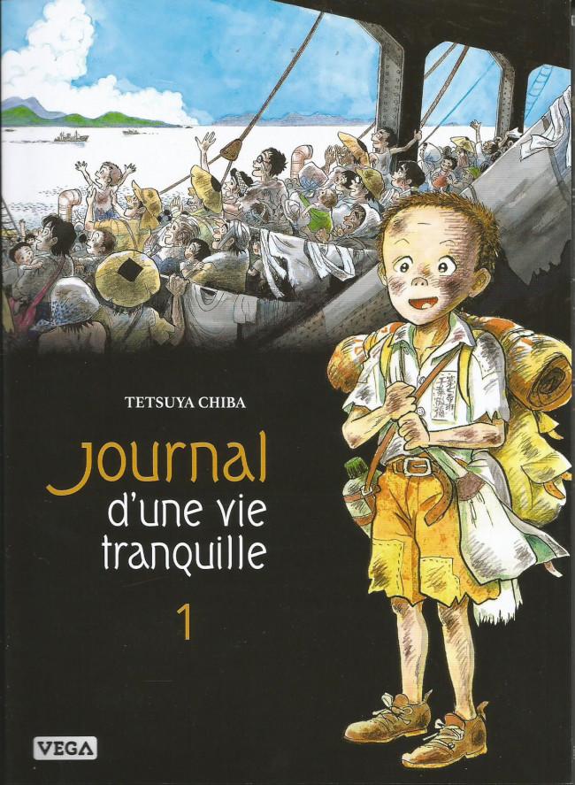 Couverture de Journal d'une vie tranquille -1- Tome 1