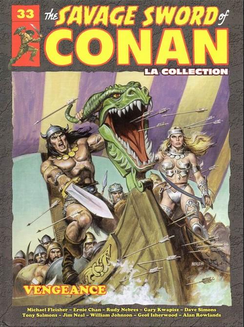 Couverture de Savage Sword of Conan (The) - La Collection (Hachette) -33- Vengeance