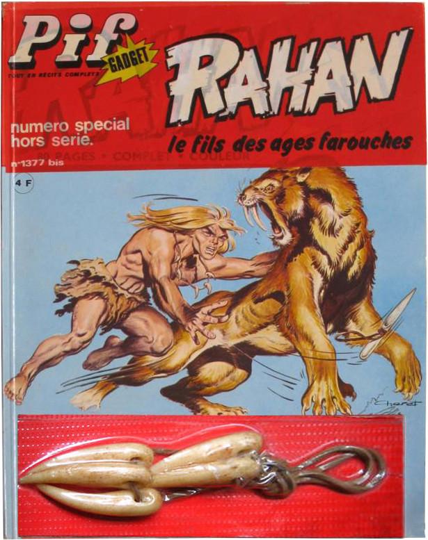 Couverture de Rahan (1re Série - Vaillant) -0HS- Rahan
