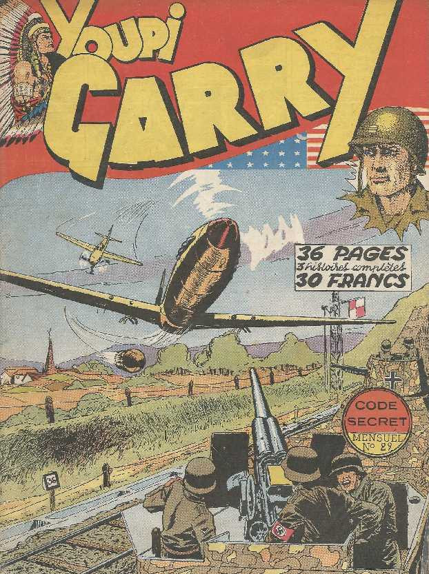 Couverture de Garry (sergent) (Imperia) (1re série grand format - 1 à 189) -29- Code secret