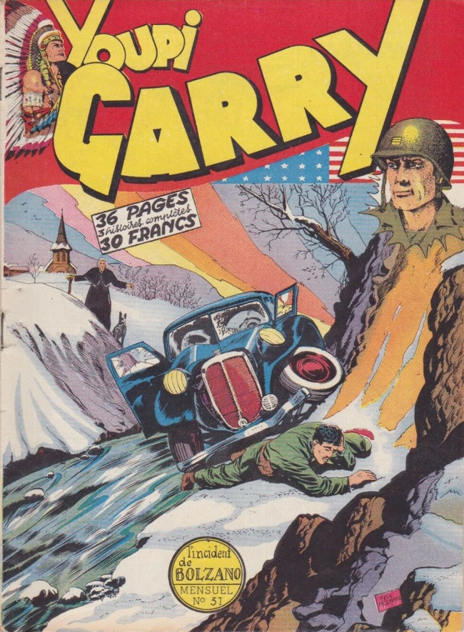 Couverture de Garry (sergent) (Imperia) (1re série grand format - 1 à 189) -31- L'incident de Bolzano