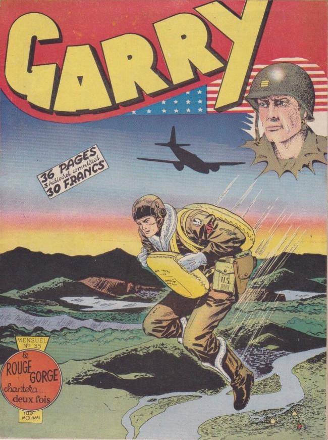 Couverture de Garry (sergent) (Imperia) (1re série grand format - 1 à 189) -35- Le rouge-gorge chantera... deux fois