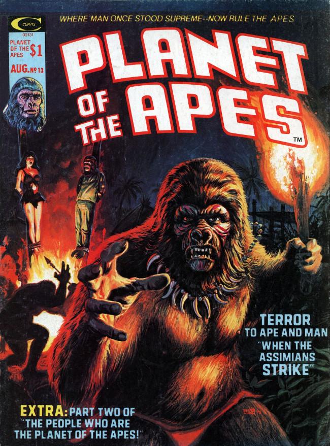 Couverture de Planet of the Apes (Marvel comics - 1974) -13-