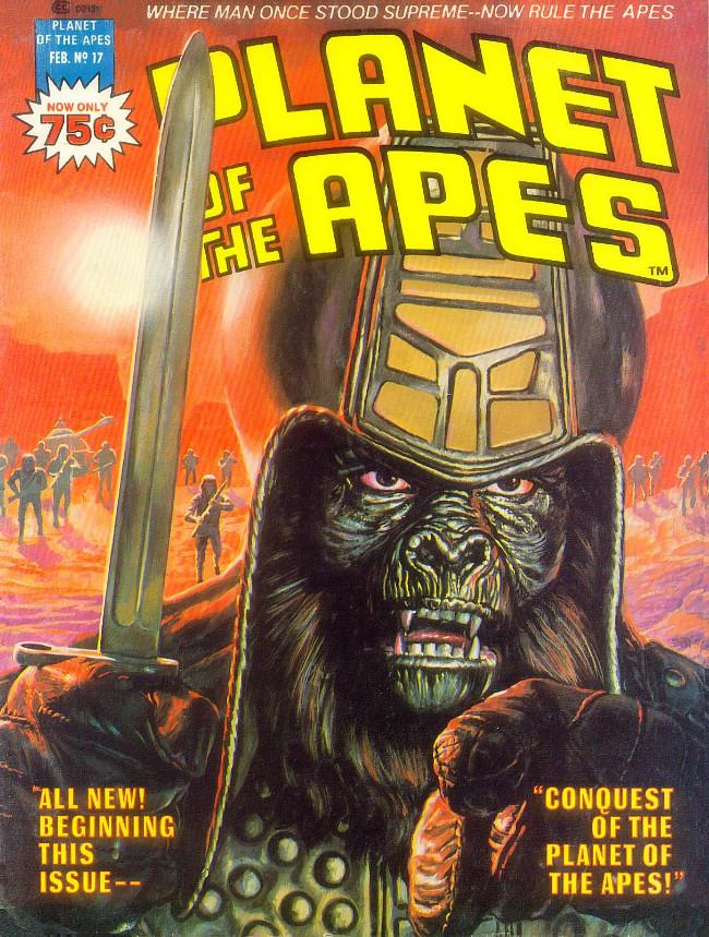 Couverture de Planet of the Apes (Marvel comics - 1974) -17-