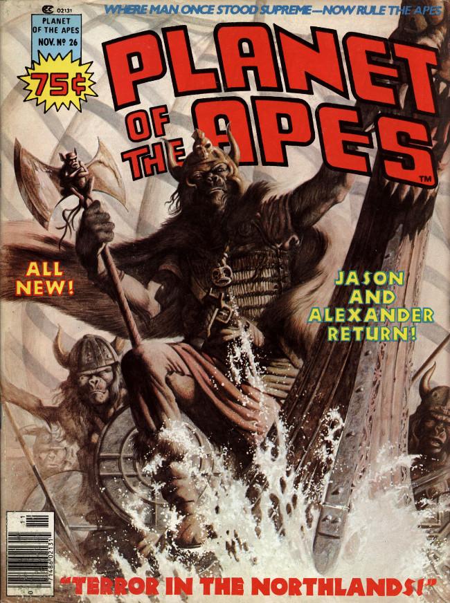 Couverture de Planet of the Apes (Marvel comics - 1974) -26-