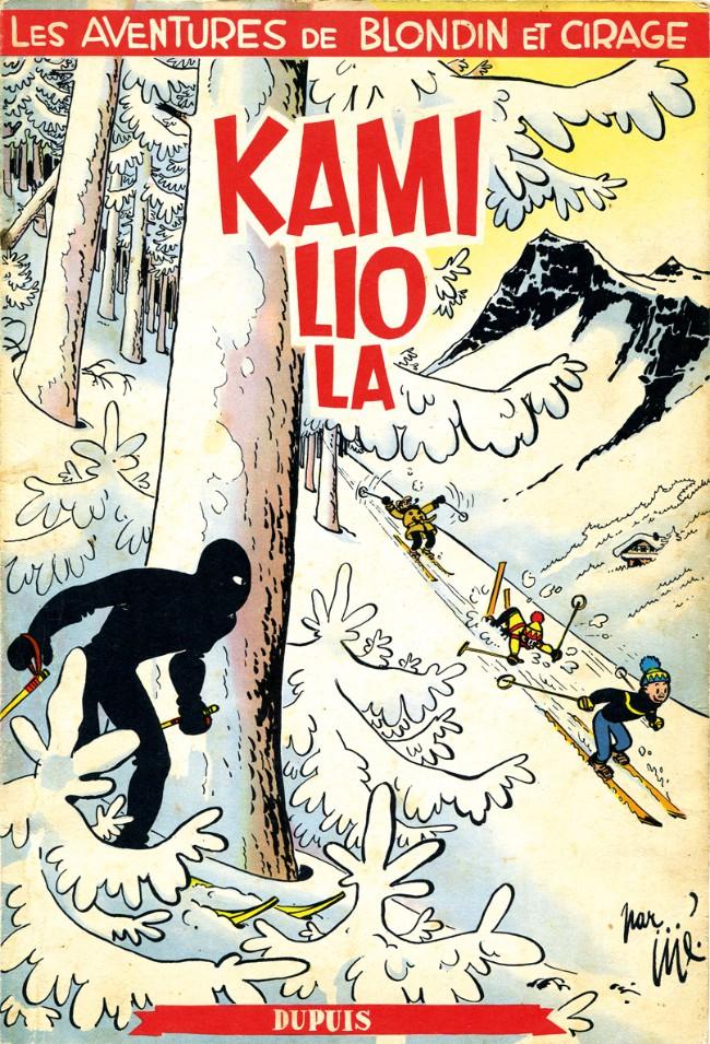 Couverture de Blondin et Cirage -7- Kamiliola