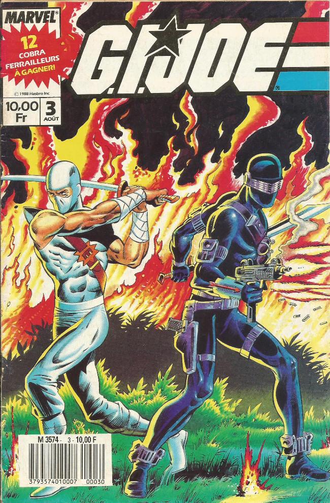 Couverture de G.I. Joe (1988) -3- Contrôle