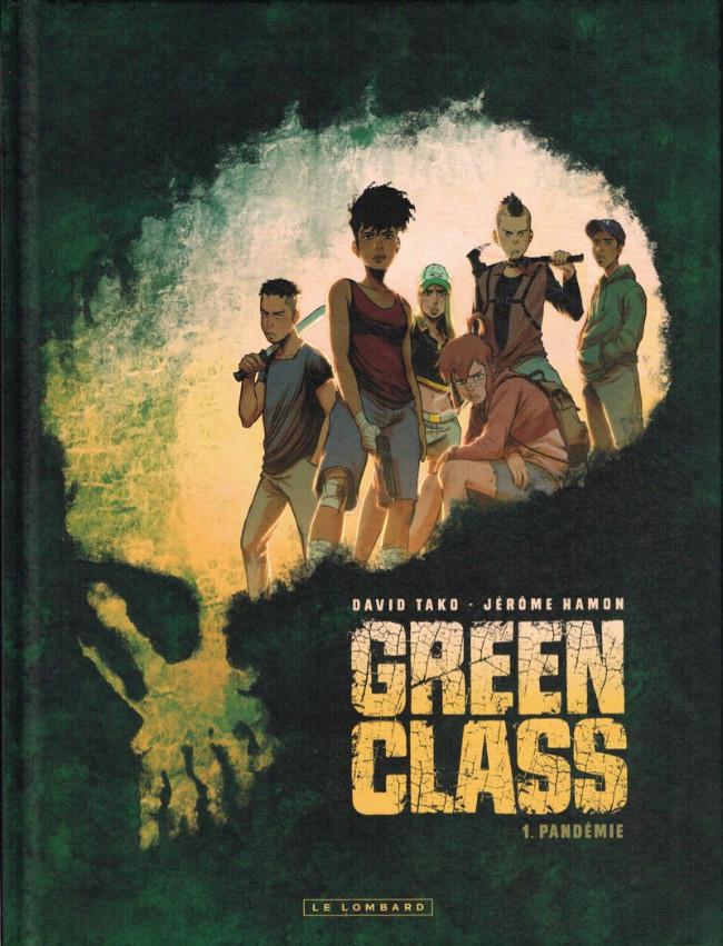 Couverture de Green Class -1- Pandémie