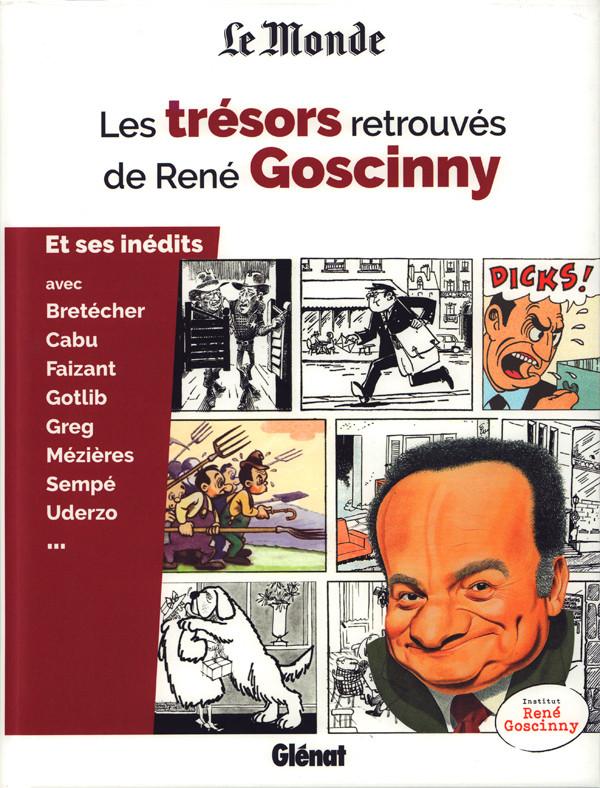 Couverture de (AUT) Goscinny -24- Les trésors retrouvés de René Goscinny