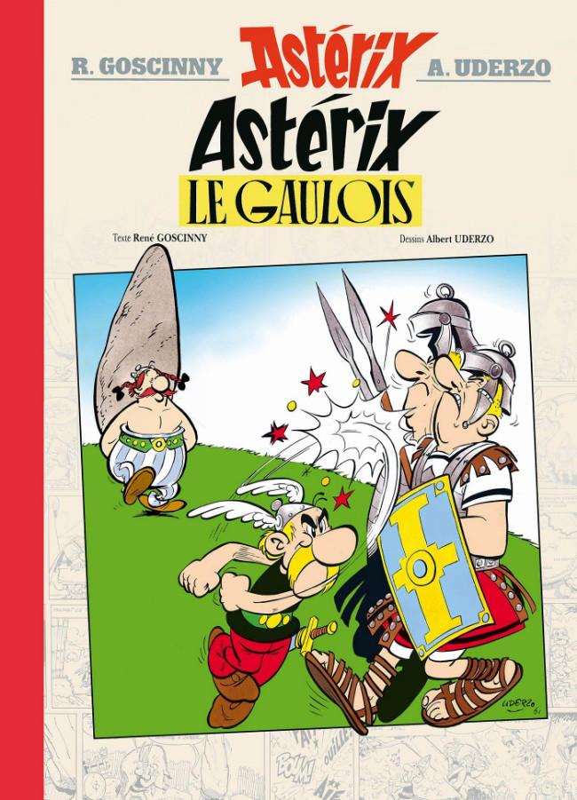 Couverture de Astérix (albums Luxe en très grand format) -1- Astérix le Gaulois