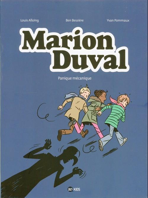 Couverture de Marion Duval -28- Panique mécanique