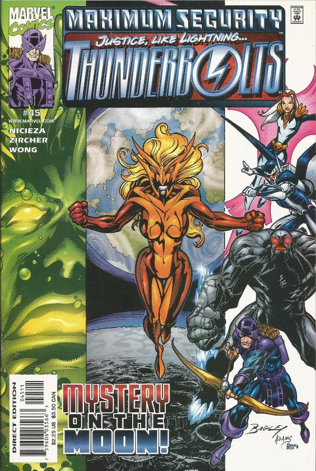 Couverture de Thunderbolts Vol.1 (Marvel Comics - 1997) -45- Heroic tendencies part 1: The inside job