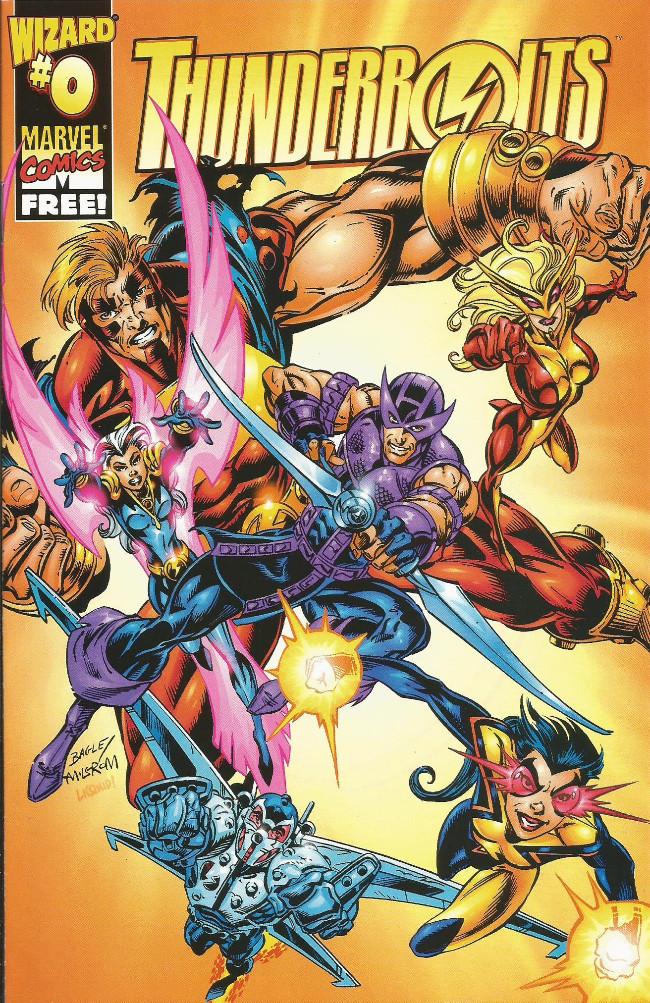 Couverture de Thunderbolts Vol.1 (Marvel Comics - 1997) -0-