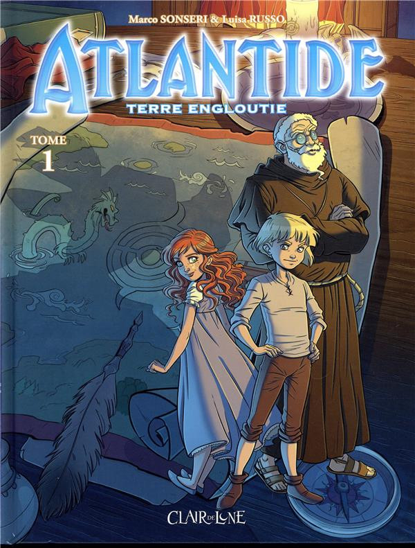 Couverture de Atlantide - Terre engloutie -1- Terre engloutie