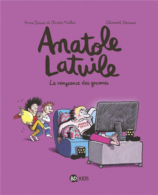 Couverture de Anatole Latuile -12- La vengeance des gnomes