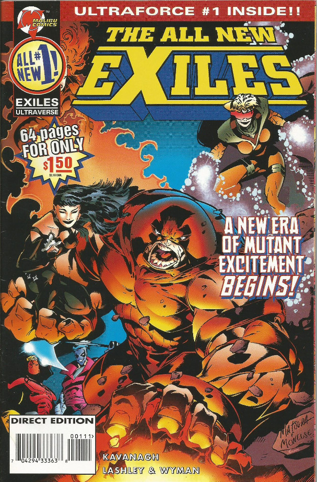 Couverture de All New Exiles (The) (1995) -1- Out of the frying pan...