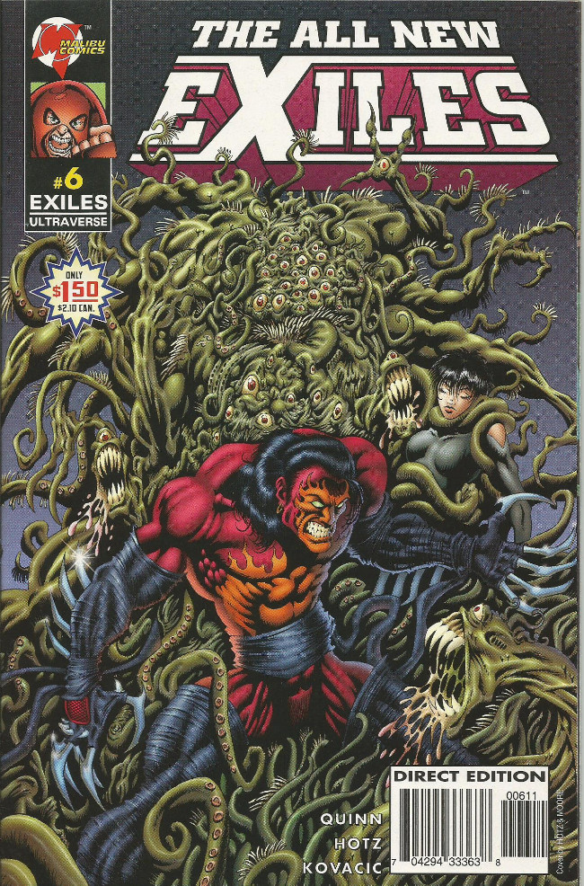 Couverture de All New Exiles (The) (1995) -6- The birthday party