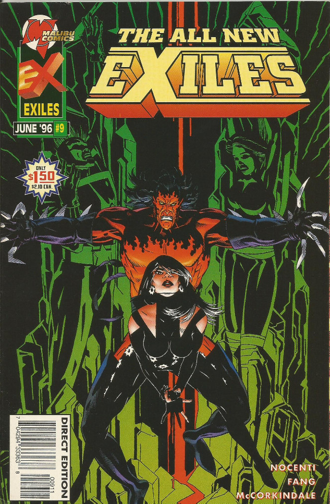 Couverture de All New Exiles (The) (1995) -9- Love wars part one: A snake enters