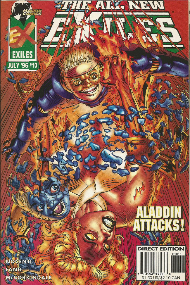 Couverture de All New Exiles (The) (1995) -10- Love wars part two: Operation discord