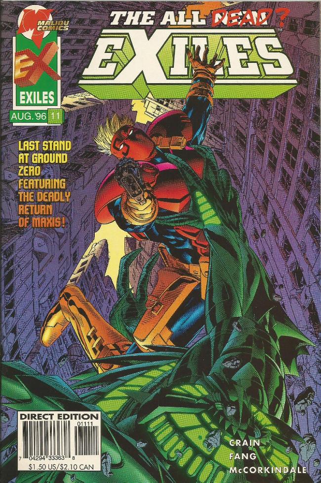 Couverture de All New Exiles (The) (1995) -11- Dark destiny