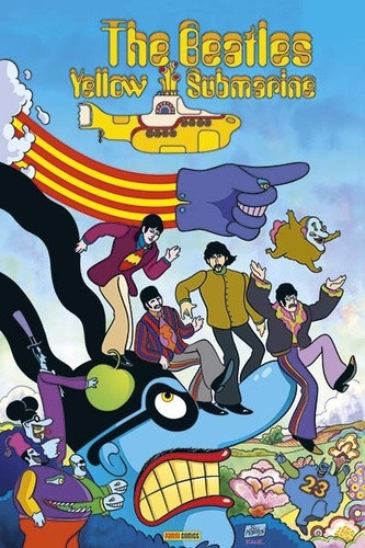 Couverture de Beatles (The): Yellow Submarine - The Beatles: Yellow Submarine