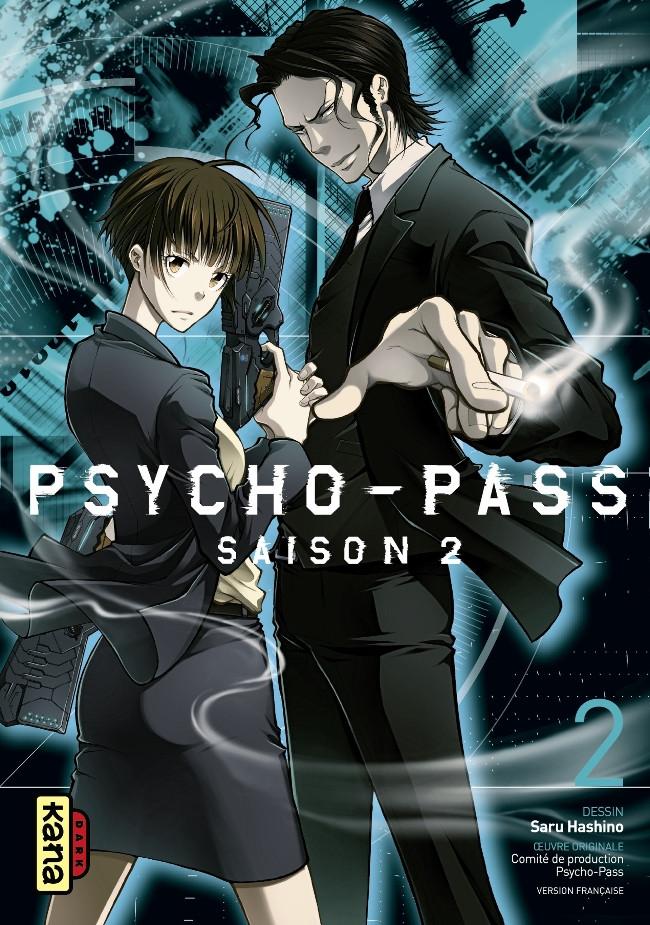 Couverture de Psycho-Pass Saison 2 -2- Tome 2