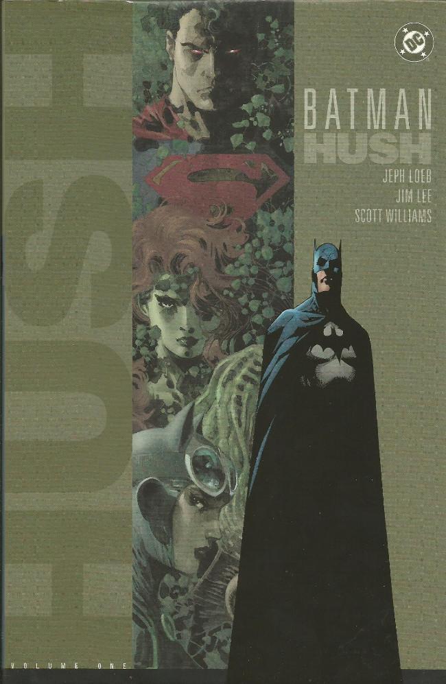 Couverture de Batman (1940) -INTHC1- Hush - Volume 1